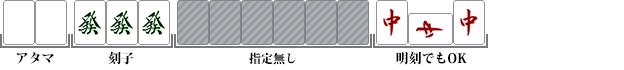 小三元(ショウサンゲン)