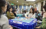 創業50年の雀荘に総勢30名の女性たち ここは有楽町 錦江荘