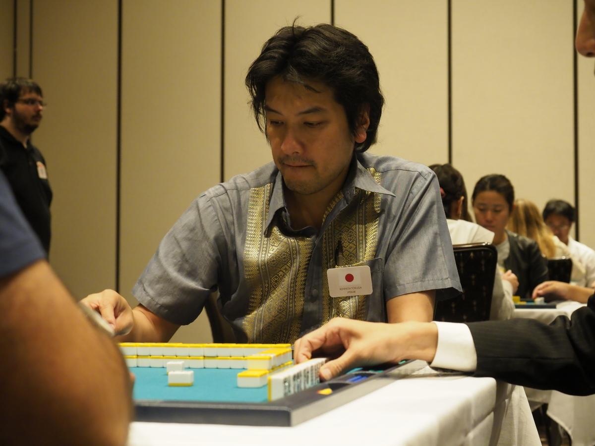 ケネス徳田(けねす とくだ) (KENNETH TOKUDA) (日本プロ麻雀連盟)