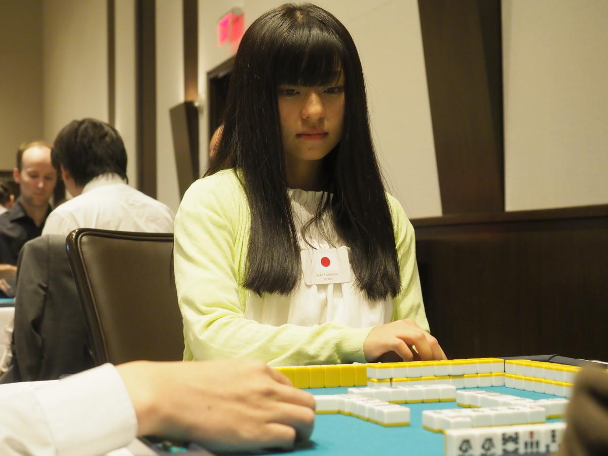 松田 麻矢(まつだ まや) (MAYA MATUDA) (最高位戦日本プロ麻雀協会)