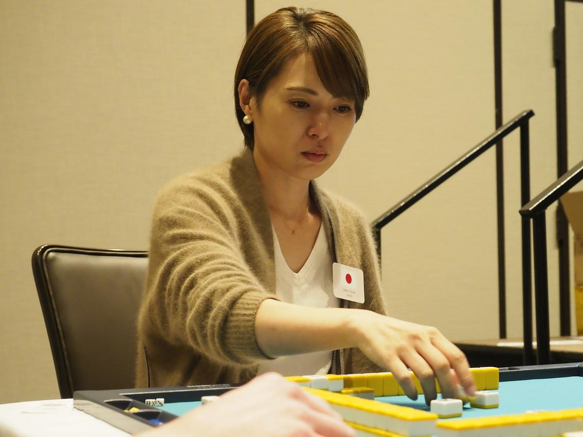 手塚 紗掬(てずか さきく) (SAKIKU TEZUKA) (日本プロ麻雀連盟)