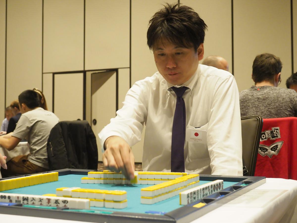 柴田 吉和(しばた よしかず) (YOSHIKAZU SHIBATA) (日本プロ麻雀連盟)